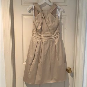 David's Bridal Champagne Dress, size 6
